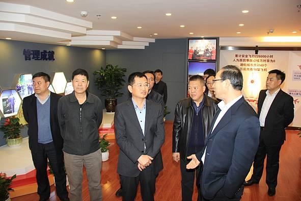 山西机场集团郝孝义带队赴昆明、广州洽商航线航班