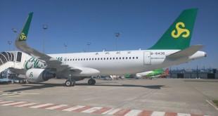 春秋航空接收其第60架空客A320飞机扩大航线网络