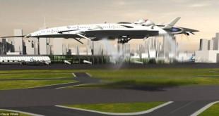 双层客舱超音速概念飞机:时速3700公里