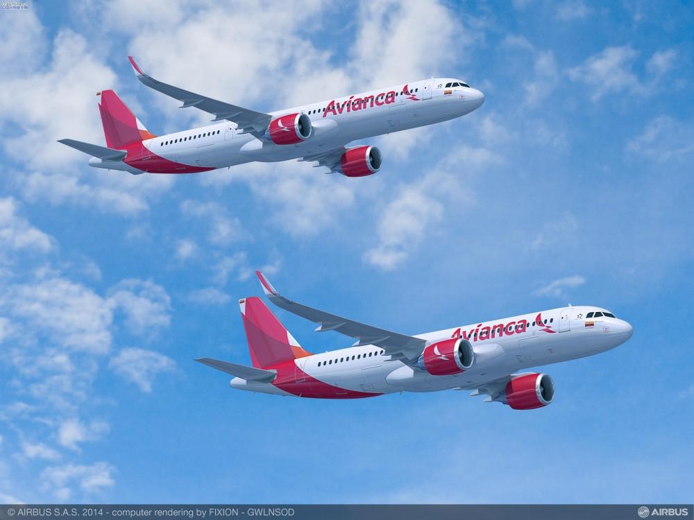 Avianca确认订购100架空客A320neo系列飞机