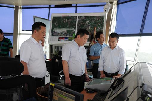 西南空管局张勇局长到贵州空管分局调研视察工作