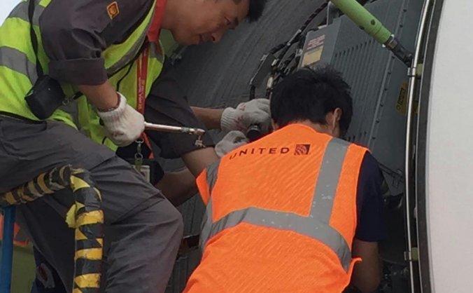 海航技术西北维修基地首次完成美联航AOG排故工作