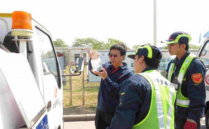 中国航油天津分公司开展五一节前专项安全检查
